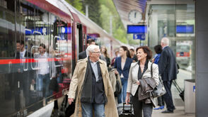 Enjoy a stressfree ride with the Austrian Railways the OeBB