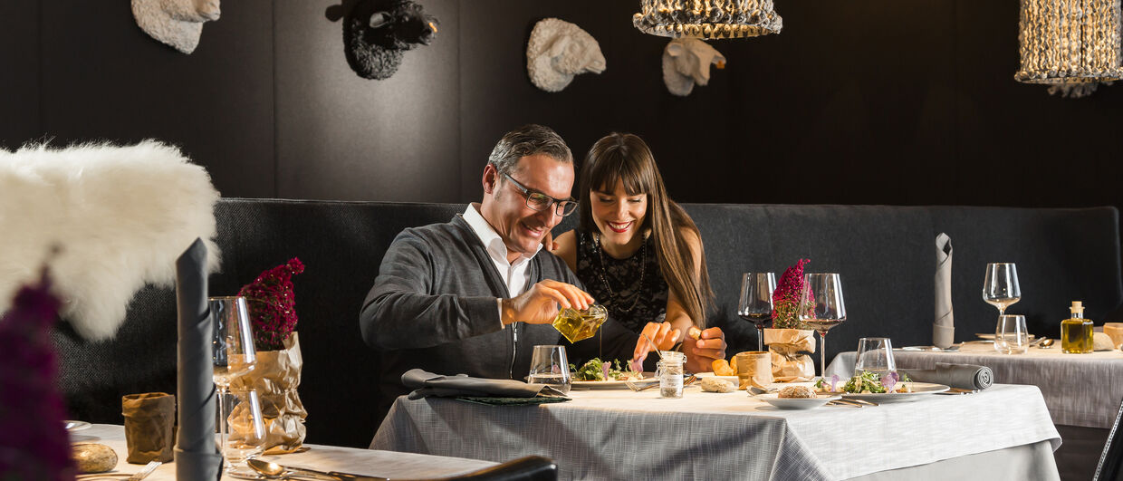 "Das Restaurant ""Black Sheep"" im Bergland Design- und Wellnesshotel Sölden"