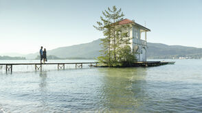 Boathouse on the Wörthersee